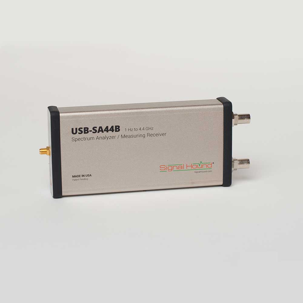 The USB-SA44B Spectrum Analyzer offers analysis up to 4.4 GHz