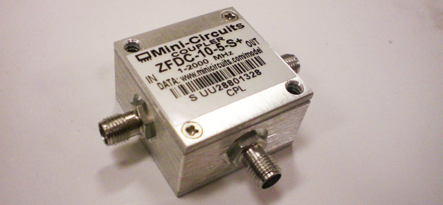 Directional Coupler - 2 GHz - ZFDC-10-5-S+