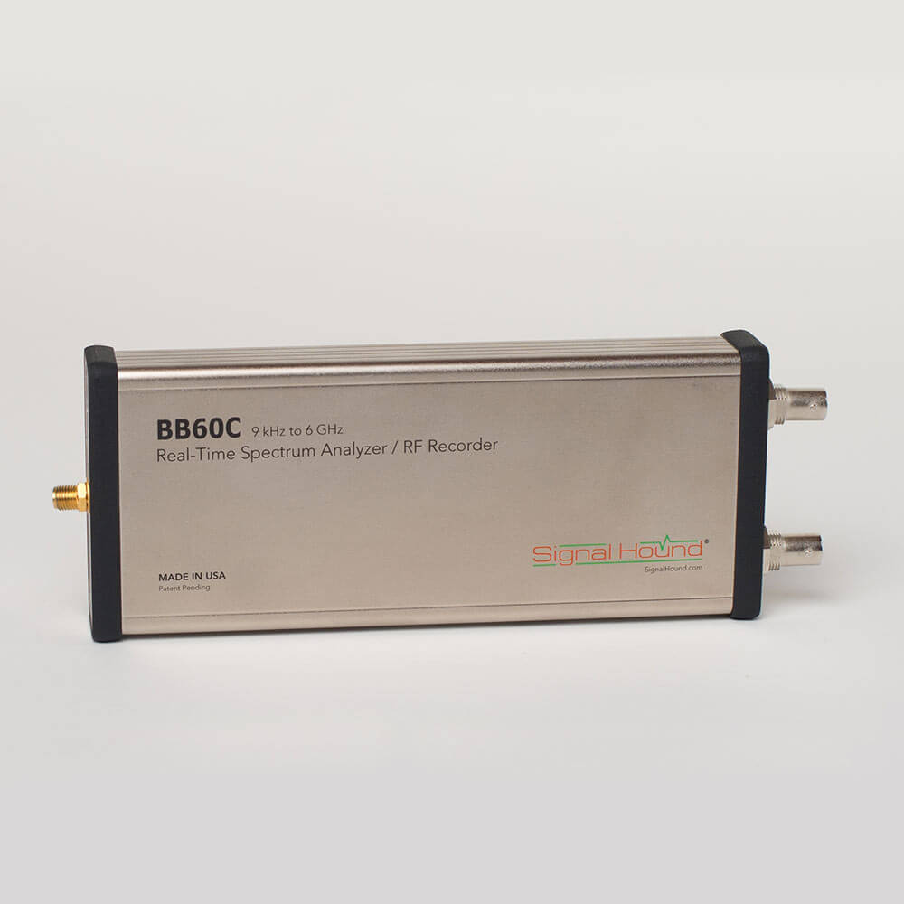 BB60C — 6 GHz Real-time Spectrum Analyzer