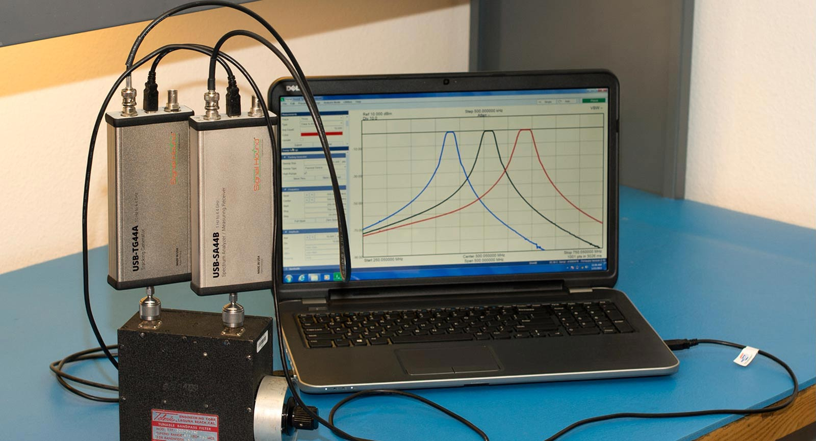 spike spectrum analyzer software for a sna setup