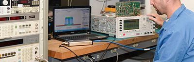 signal hound spectrum analyzers in the lab