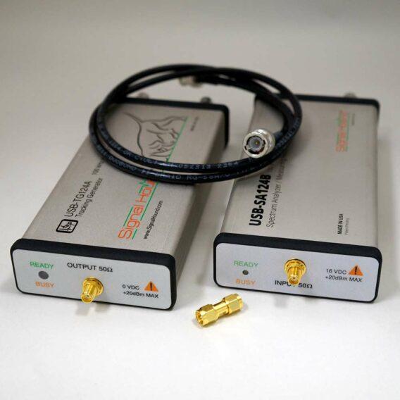 12.4 GHz Scalar Network Analyzer from Signal Hound