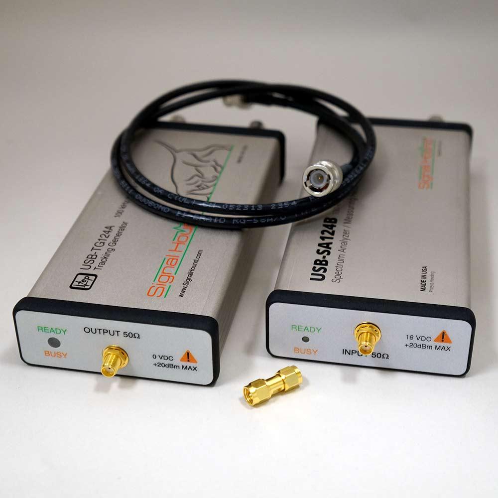 Scalar Network Analyzer : Ghz scalar network analyzer signal hound
