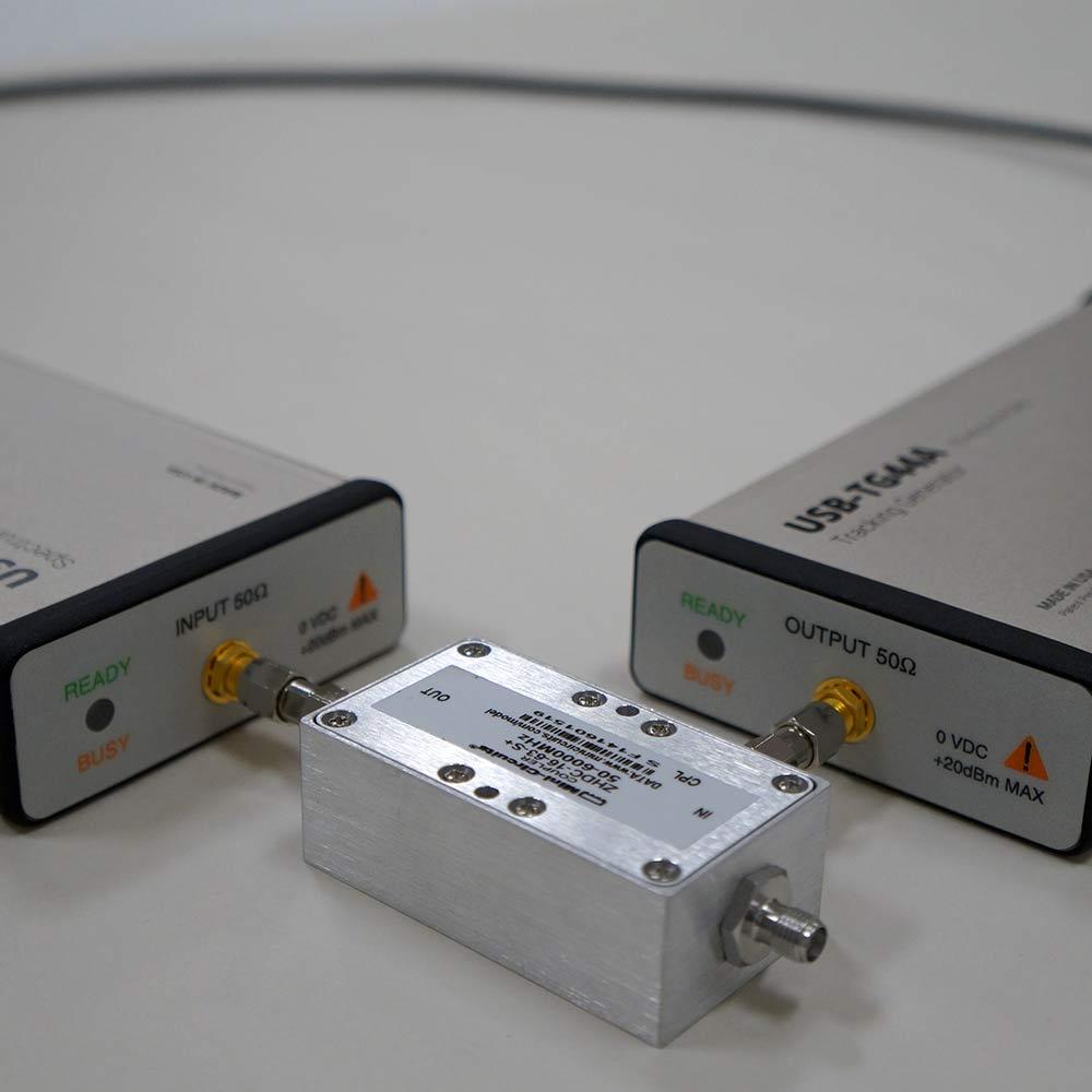Scalar Network Analyzer : Ghz scalar network analyzer w coupler for rl signal