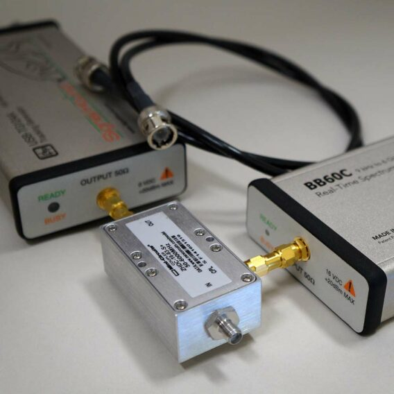 6 GHz Scalar Network Analyzer with Coupler from Signal Hound