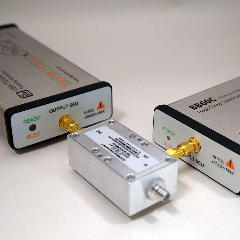 Scalar Network Analyzer : Ghz scalar network analyzer w coupler for rl signal hound
