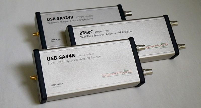 Signal Hound Spectrum Analyzer Devices