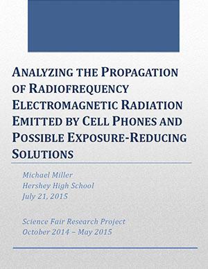 Michael Miller STEM report using spectrum analyzer for RF emissions