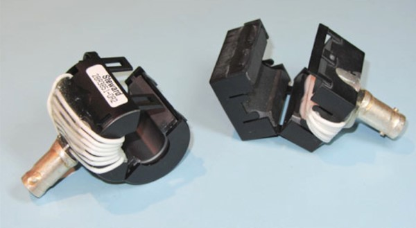 A set of DIY current clamps